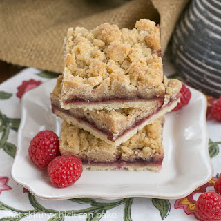 Raspberry Crumb Bars #TwoSweetiePies