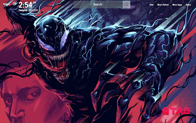 Venom New Tab Venom Wallpapers