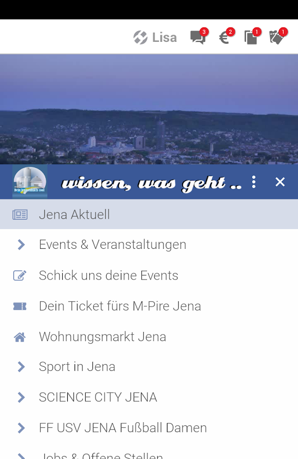 Dein Jena- screenshot