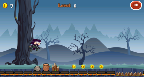 Download Gravity ninja For PC Windows and Mac apk screenshot 2