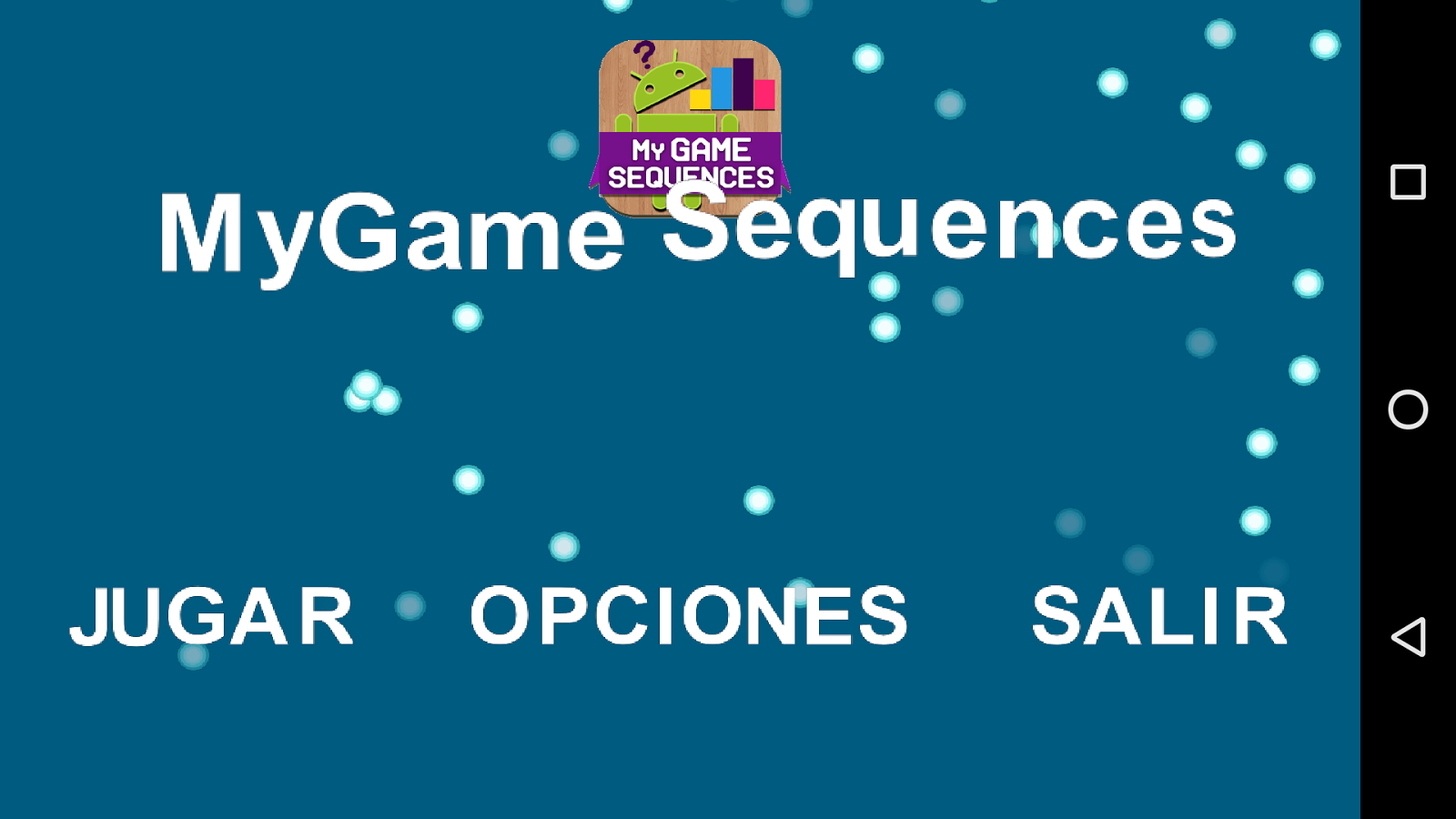 MyGame Sequences- screenshot