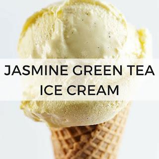 Jasmine Green Tea Ice Cream.