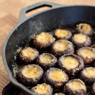 Garlic Butter Roasted Mushrooms Recipe