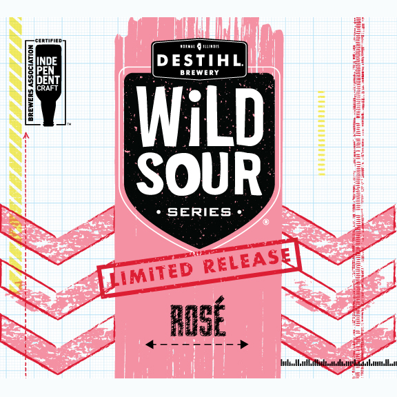 Logo of DESTIHL Wild Sour Series:  Rosé