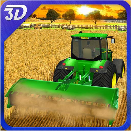 収穫ファームシミュレータ3D 模擬 LOGO-玩APPs