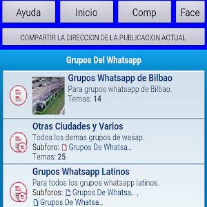 Grupos Wasap para whatsapp