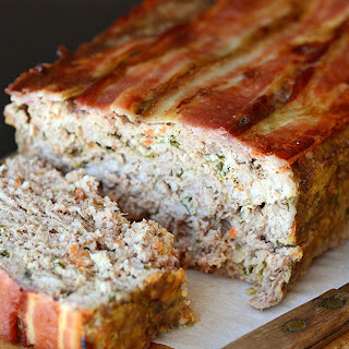 Paleo Bacon Wrapped Meatloaf