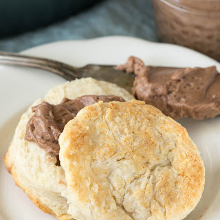 Chocolate Honey Butter with the BEST Buttermilk Biscuits
