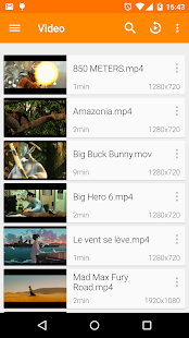 VLC for Android - náhled