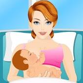 Pregnant Woman & NewBirth Baby