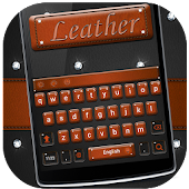 Diamond Jeweled Leather Keyboard Theme