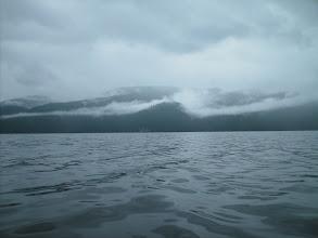 Photo: July 4 - Heading north up Seward Passage.