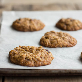 Chewy Cranberry, Oat + Coconut Cookies