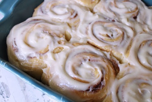 Cream Cheese Cinnamon Roll Frosting