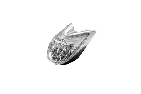 HIGHWAY HAWK LED bakljus, bromsljus, blinkers till YAMAHA XVS 950