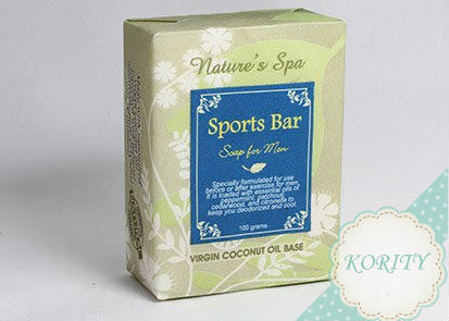 Sports Bar Soap for Man