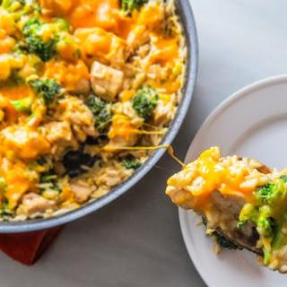Cheesy Chicken, Broccoli and Rice
