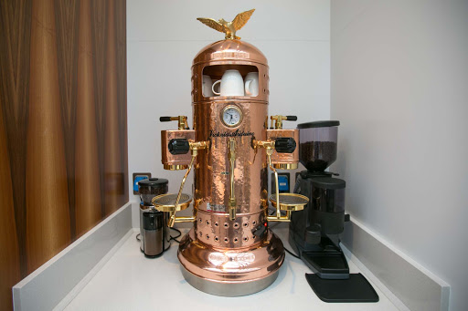 Wintergarden-copper-coffee-maker-1.jpg - A copper coffee maker in the Wintergarden.