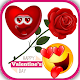 Download romantic love emoji quotes For PC Windows and Mac 1.0