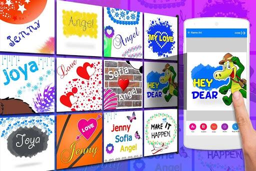 Name Art - Focus Filter - Name Card Maker 1.1.4 screenshots 7