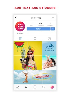 Grid Post Pro Apk – Photo Grid Maker for Instagram Profile 8