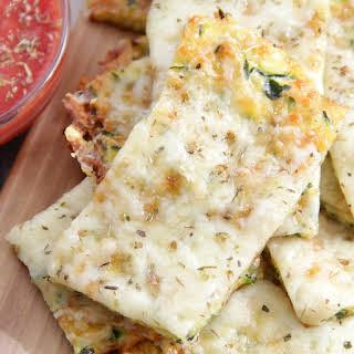 Zucchini Cheesy Bread.