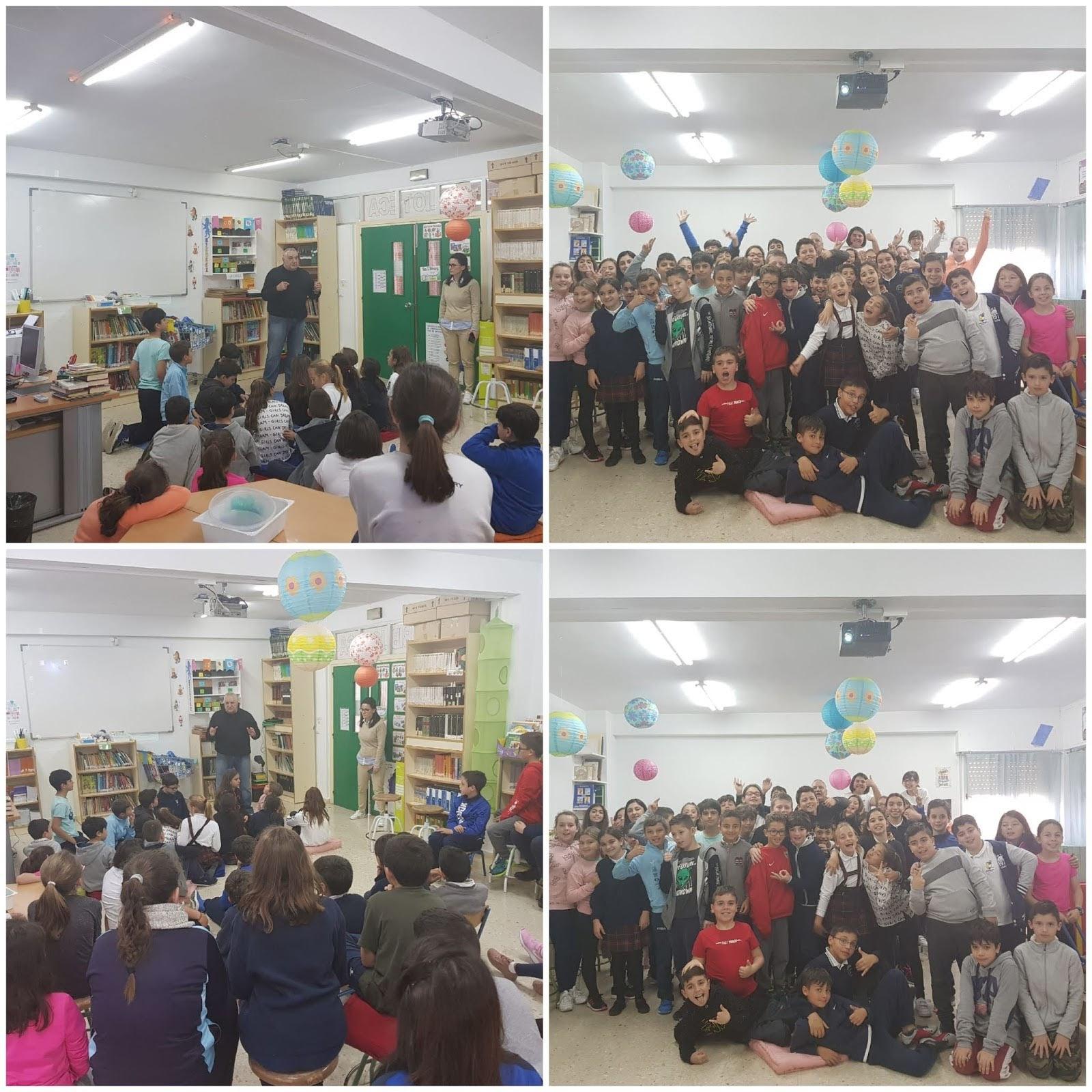 125 alumnos del CEIP Inmaculada aprenden con Mayor-Net a prevenir el Ciberbullying