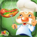 热狗餐厅 - 疯狂厨师 icon