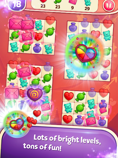 Sweet Hearts - Cute Candy Match 3 Puzzle  screenshots 8