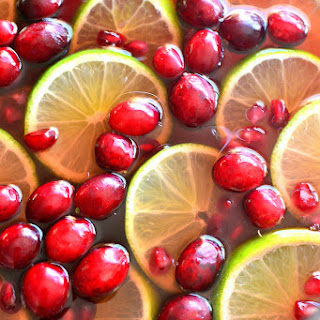 Pomegranate Party Punch.
