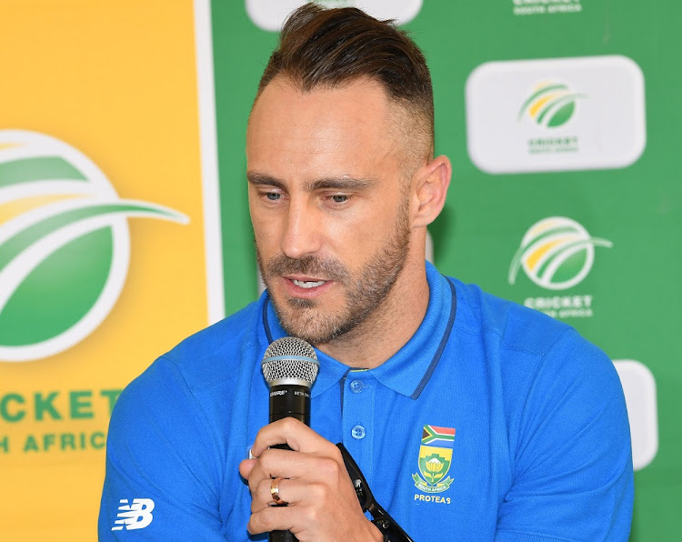 Faf du Plessis. Picture: LEE WARREN/GALLO IMAGES