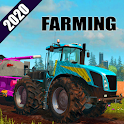 Farming Tractor Trolley Driving 3d- Offroad Games icon
