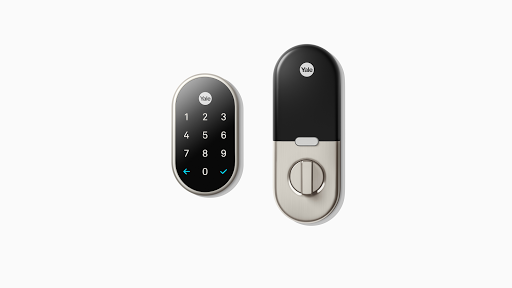 nest x yale lock connected door lock google store