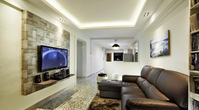 Photo: Living room design is a subject of utmost importance as far as the functionality of entire home is concerned. HDB Living Room Design Singapore is set up so that the room can be a multipurpose room. Check this link right here http://thecarpenters.com.sg/ for more information on HDB Living Room Design Singapore. There may be some consideration given to reading areas, television and other media areas and even simple seating for eating in the space.
