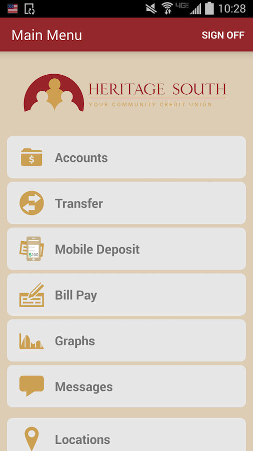 HSCU MobileTeller- screenshot