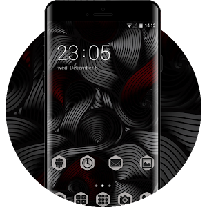Art Design Black Cool Theme for Lenovo K8 Note for PC