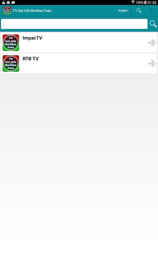 玩媒體與影片App|テレビ衛星情報ブルキナファソ免費|APP試玩