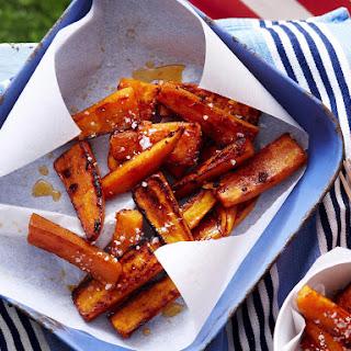 Sweet Potato Chili Wedges.