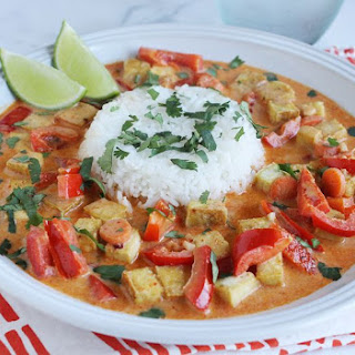 Red Curry with Tofu.