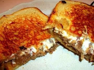 Ooey Gooey Sausage Melt Sandwich