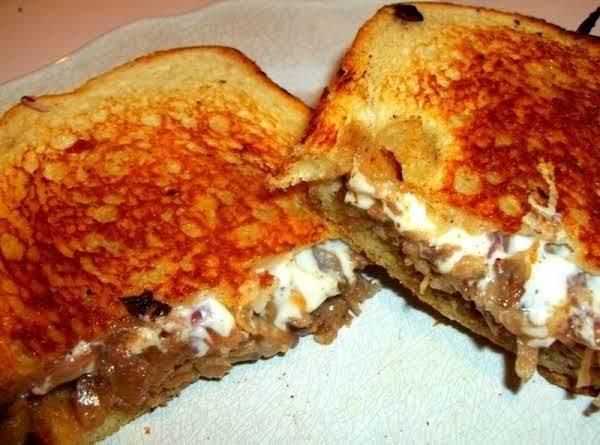 Ooey Gooey Sausage Melt Sandwich Recipe