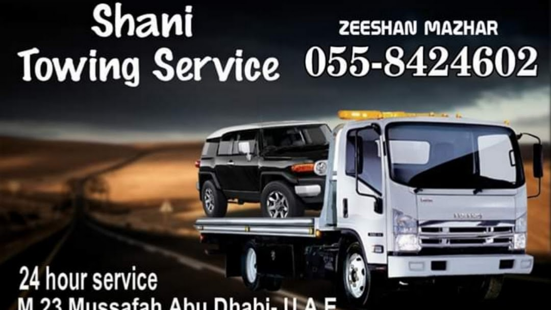 Shani car recovery & towing service abu dhabi - Towing Service