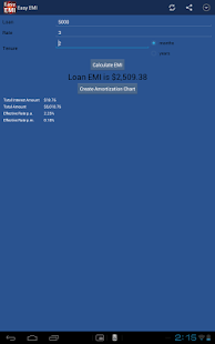 App Easy EMI Loan Calculator APK for Windows Phone
