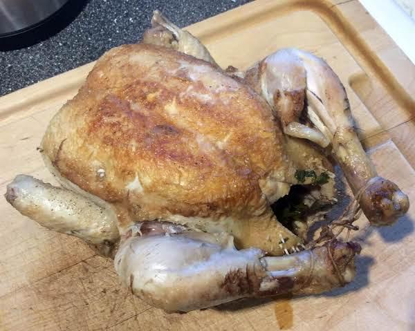 Grydestegt Kylling (danish Pot-roasted Chicken)
