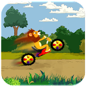 MotorBike Jungle Race