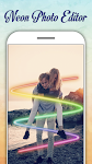 screenshot of Neon Photo Editor