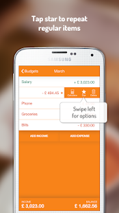 Budget and expense tracking app: Fudget- screenshot thumbnail