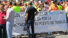 Imagen de archivo de una manifestación celebrada en Sevilla.