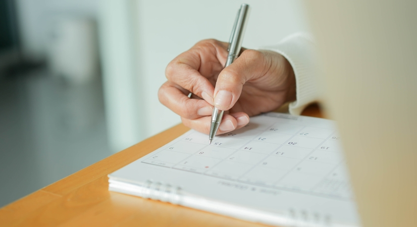 scheduling your sale