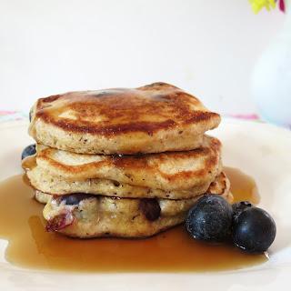 Spelt Blueberry Pancakes Recipe